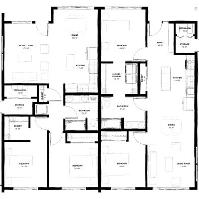 Conquistador, Eagle River, 99577, 2 bedrooms, 1 bathroom, Duplex, For Rent